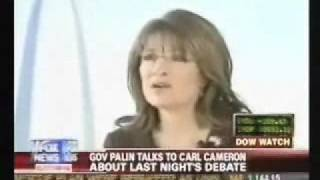 Palin Couric Annoyed Me Video