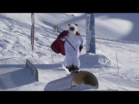 Shredding Nikolaus @ Snowpark Kitzsteinhorn