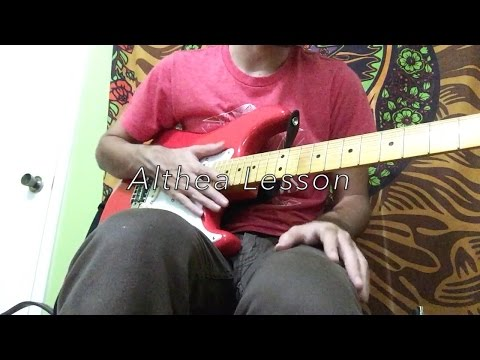 Watch Althea Grateful Dead (Guitar Lesson) on YouTube