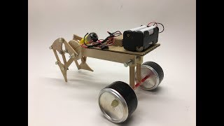 DIY Pedestrian Walking Machine - The Walking Gear