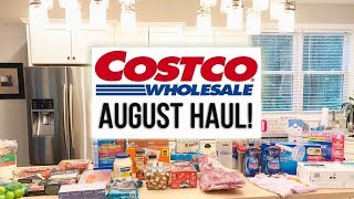 $465 Costco Haul // August 2018 // Family of 4 // Some Keto Friendly Items!