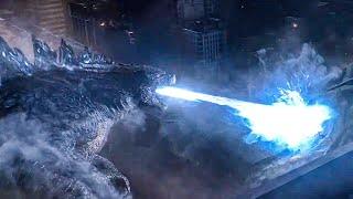 Godzilla vs MUTOS Final Fight Scene - GODZILLA (2014) Movie Clip