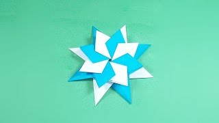 How to make a Paper Magic Star - Origami Magic Star Instructions - Easy Paper origami