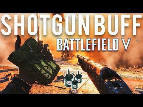 Battlefield 5 Shotgun Buff