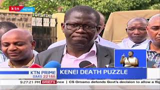 KENEI DEATH PUZZLE: Why Kenyans have to wait longer to know how  Seargent Kenei died