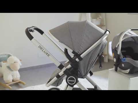 Coche Deluxe Travel System Carestino Beige video