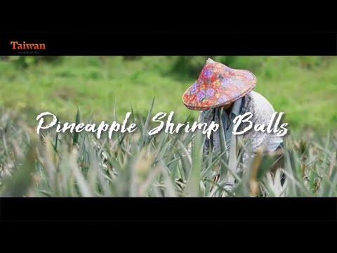Let's make Taiwanese Cuisine! Pineapple Shrimp Balls