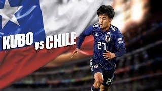 Kubo Vs Chile El Messi Japones Brilla En La Copa América 2019