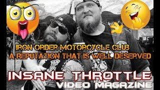 Iron Order Motorcycle Club  Why the Outcast Status among other MCS