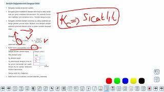 Eğitim Vadisi AYT Kimya 8.Föy Kimyasal Denge 2 Konu Anlatım Videoları