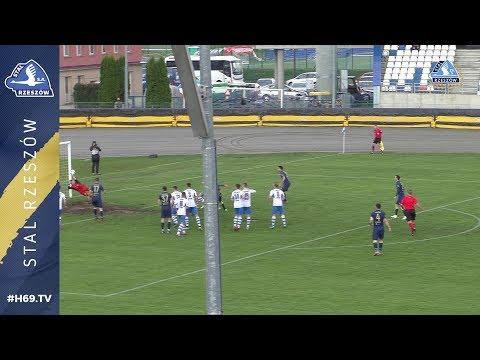 WIDEO: Stal Rzeszów - Hutnik Kraków 2-0 [BRAMKI]