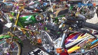 Ratusan Motor Modif Ikut Metamorfosa Oto Contest di Semarang