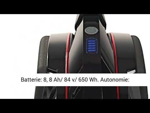InMotion V10 Gyroroue électrique Mixte Adulte, Noir, Unique