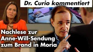 Anne-Will-Sendung zu Moria kommentiert