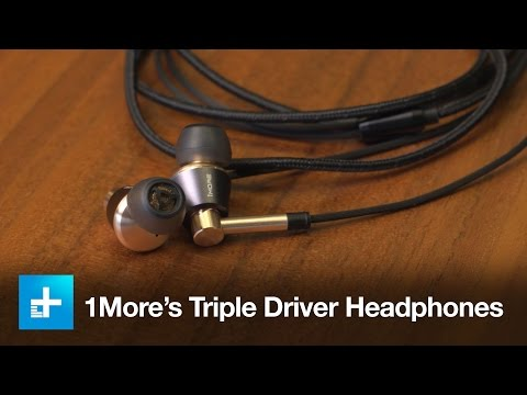 1More's Triple Driver Headphones - Hands on Review