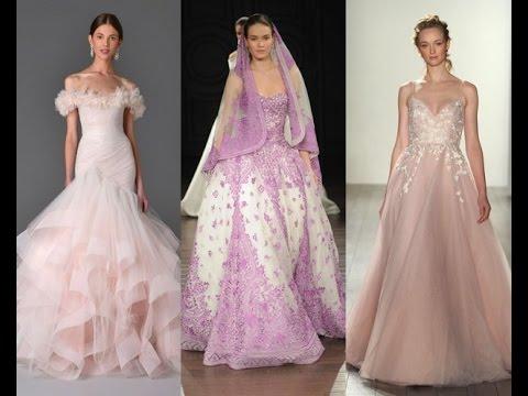 Длинные свадебные платья 2017 - прелестные новинки