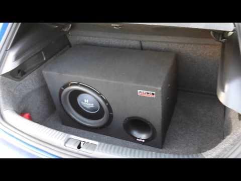 VW SCIROCCO R nagl. AUDIO SYSTEM Helon H12