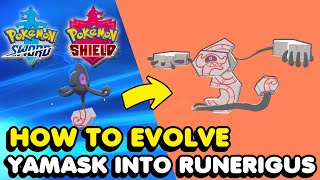 Runerigus  - (Pokémon) - How To Evolve Yamask Into Runerigus In Pokemon Sword & Shield