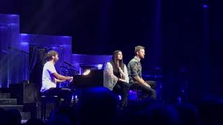 "Lady Antebellum Performing Hillary Scott's ""Thy Will"" in Nashville"