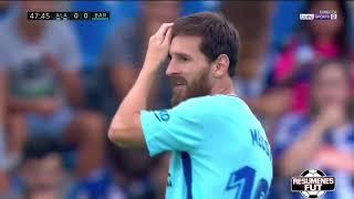 Alavés Vs FC Barcelona 0-2 Resumen Goles La Liga Santander 26/08/2017