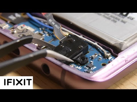 Samsung Galaxy S9+ Headphone Jack Repair-How To