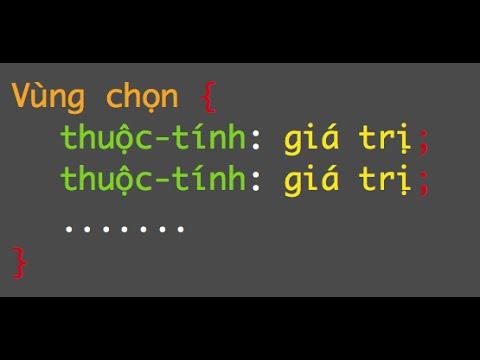 Học CSS cơ bản (P1)