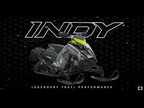 2022 Polaris 650 Indy VR1 129 SC in Lincoln, Maine - Video 1