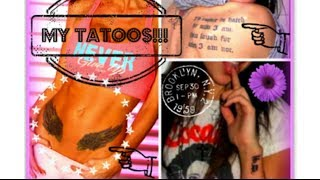MY TATTOOS & THE CRAZY STORIES BEHIND THEM: CHANNON ROSE
