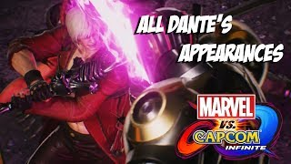Marvel vs Capcom : Infinite - All Dante