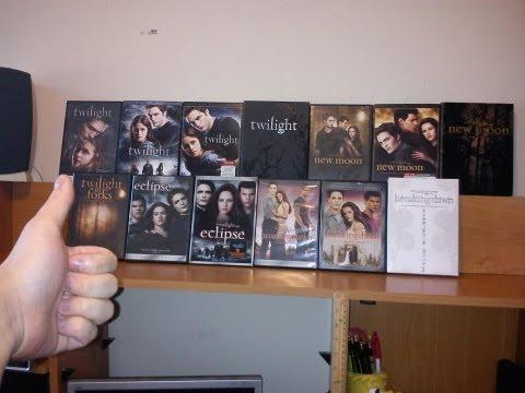 Twilight Saga Massive DVD Collection