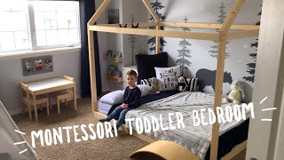 Montessori Inspired Toddler Bedroom!