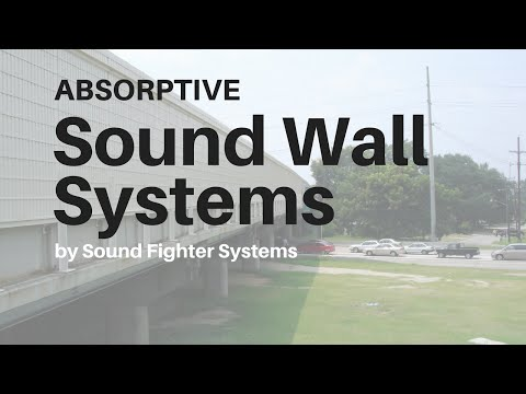 Sound Fighter Systems History and Absorptive Sound Wall Systems
