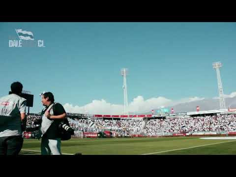 """Presentación de Colo Colo al estilo europeo"" Barra: Garra Blanca • Club: Colo-Colo"
