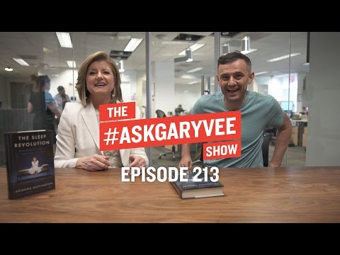 Arianna Huffington, Nighttime Routines & The Importance of Sleep | #AskGaryVee Episode 213
