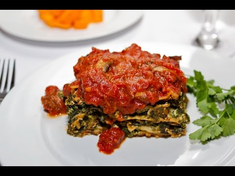 Vegan Lasagna Recipe | Ornish Reversal Program