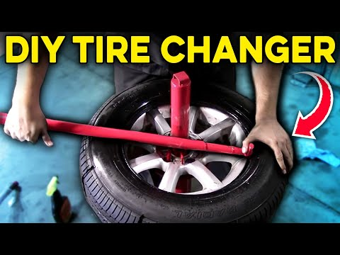 How to Use a Manual Tire Changer – Harbor Freight