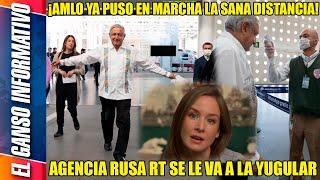 ¡Insólito! RT en español se voltroniza, actúa como Univisión y ataca a AMLO