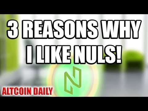 3 Reasons Why I Like NULS!!! [Cryptocurrency/Altcoin Review]