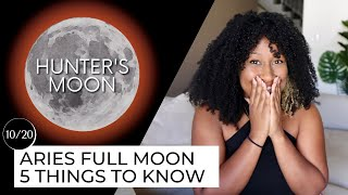 Full Moon October 20th! 5 Things to Know 🔮✨