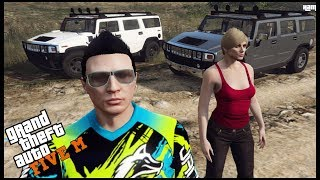 GTA 5 ROLEPLAY - EXTREME OFFROADING WITH H2 HUMMERS  - EP. 577 - CIV