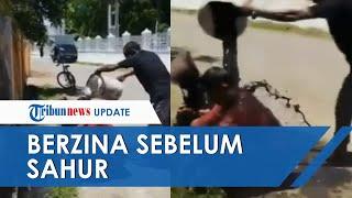Warga Gerebek Pasangan Selingkuh di Aceh dan Mandikan Pakai Air Got, Akui Berzina sebelum Sahur