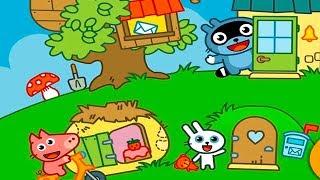 МАЛЫШ Панго и ДРУЗЬЯ Веселая игра для малышей Игровой мультик для детей Игра для малышей