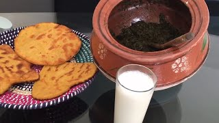Sarson ka Saag /Sarso Ka Saag Recipe/Maki Ki Roti Recipe/Easy Method