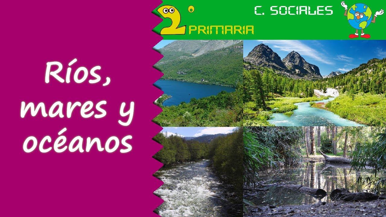 Ciencias Sociales. 2º Primaria. Tema 3. Ríos, mares y oceanos