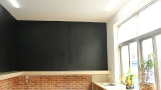Fancy-fix Chalkboard Wall Decal Installation-How To Install A Chalkboard Wall Sticker