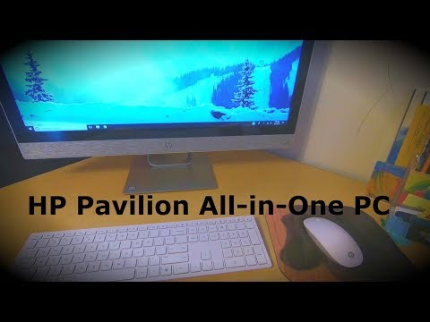 """Unboxing and Review of HP Pavilion All-in-One 27"""" Touchscreen PC"""