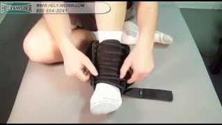 Video: Hely Weber Rapid ZAP Ankle Orthosis #318