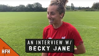 BECKY JANE | LIVERPOOL PRE-SEASON 2019/20 INTERVIEW