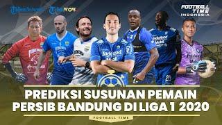 Prediksi Susunan Pemain Persib Bandung untuk Liga 1 2021: Kejamnya Persaingan di Lini Tengah