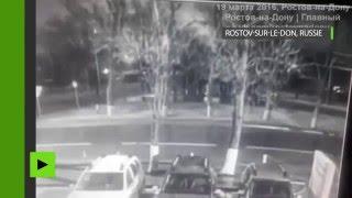 Le moment du crash du Boeing 737 en Russie